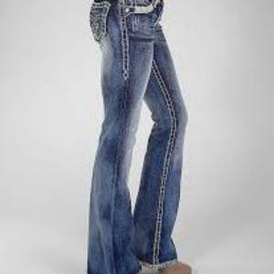 Rock Revival Jeans Jasmine Bling Bootcut Long Tall